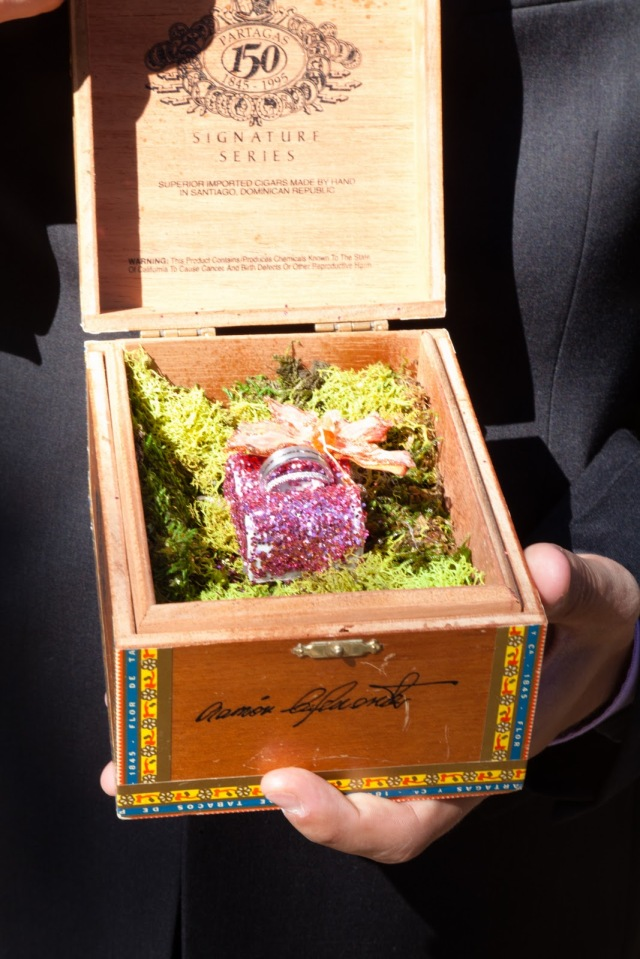 Cigar Box of Rings
