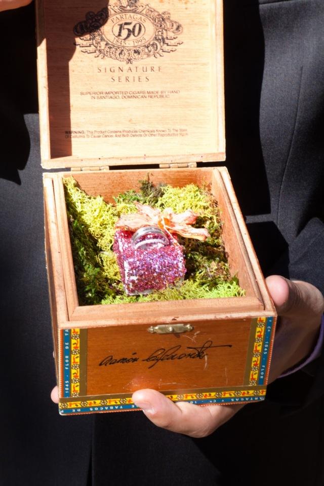 Cigar Box of Rings